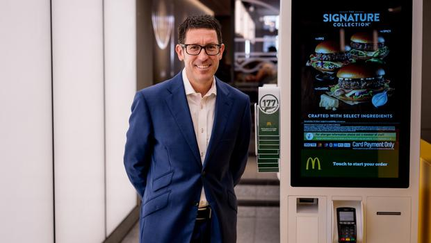 Image result for Paul Pomroy, CEO of McDonald's UK and Ireland
