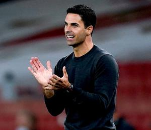 It's a great story' - Mikel Arteta pays tribute to Filippo Giovagnoli as Arsenal prepare to welcome Dundalk - Independent.ie