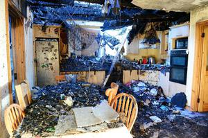 [DHAV_9290]  A small fire that started in a fuse box destroyed this family home in four  minutes - Independent.ie   Destroyed Fuse Box      Independent.ie