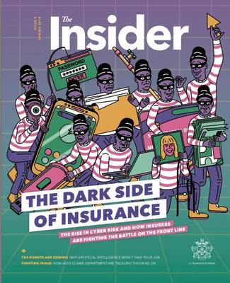 Insurance Institute Withdraws Magazine After Its Front Cover Is