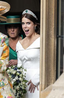 Royal Wedding Eugenie S Second Tier Royal Nuptials Gets Full