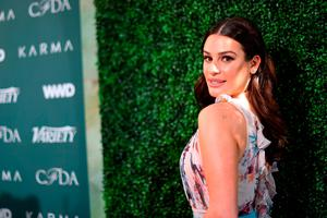 Glee Star Lea Michele Is Using This Rather Addictive Wedding Planning Tool To Plan Her Big Day Independent Ie
