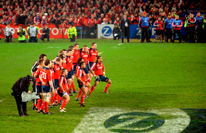 Paul O Shaughnessy When The Munster Haka Started It Put Goosebumps On Goosebumps Independent Ie